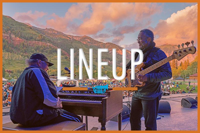 Telluride Jazz Festival | Lineup