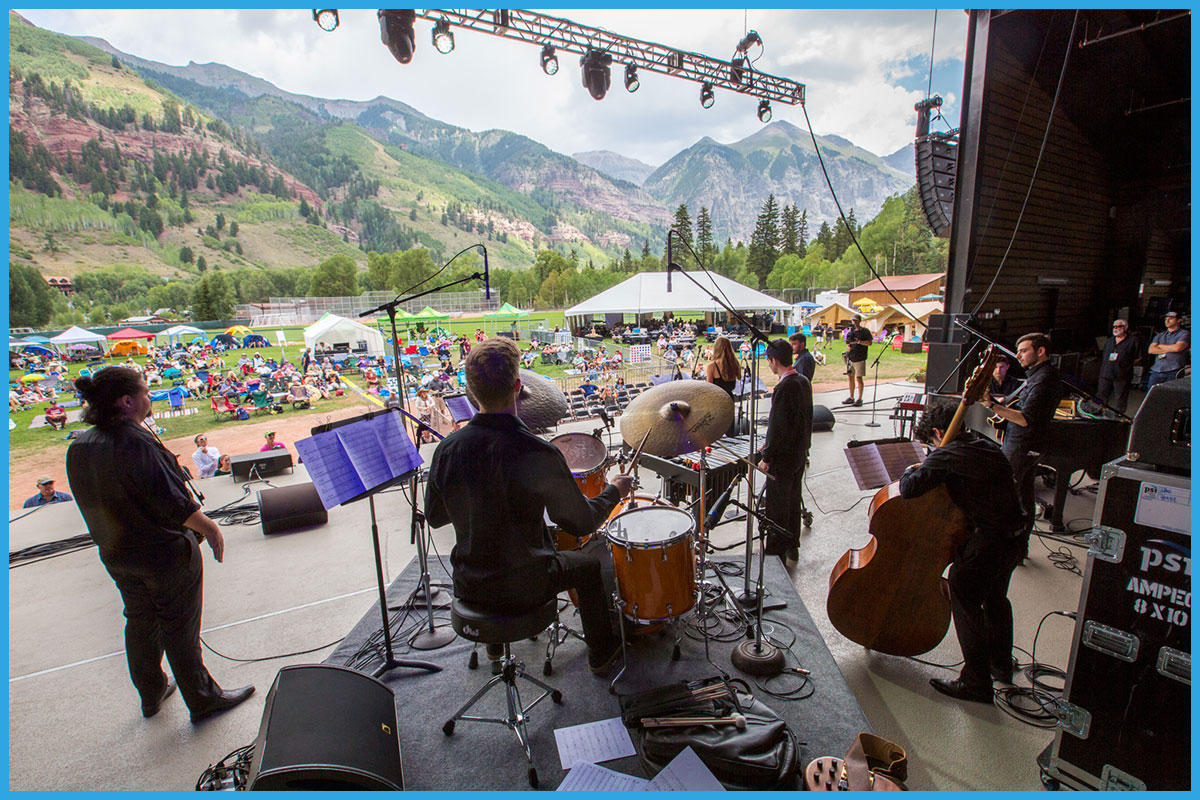 the TELLURIDE STUDENT ALL-STARS 25th reunion band    View More