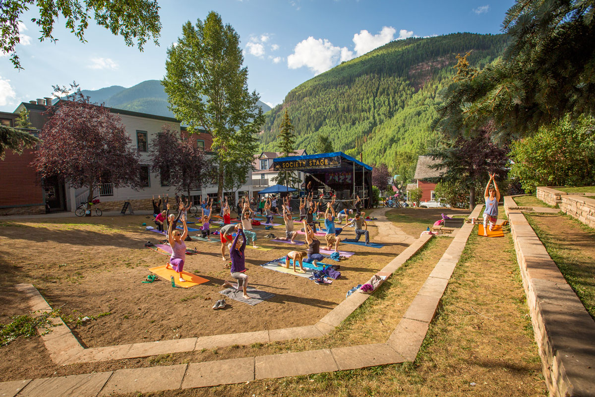 Telluride Jazz Festival | First Note Yoga