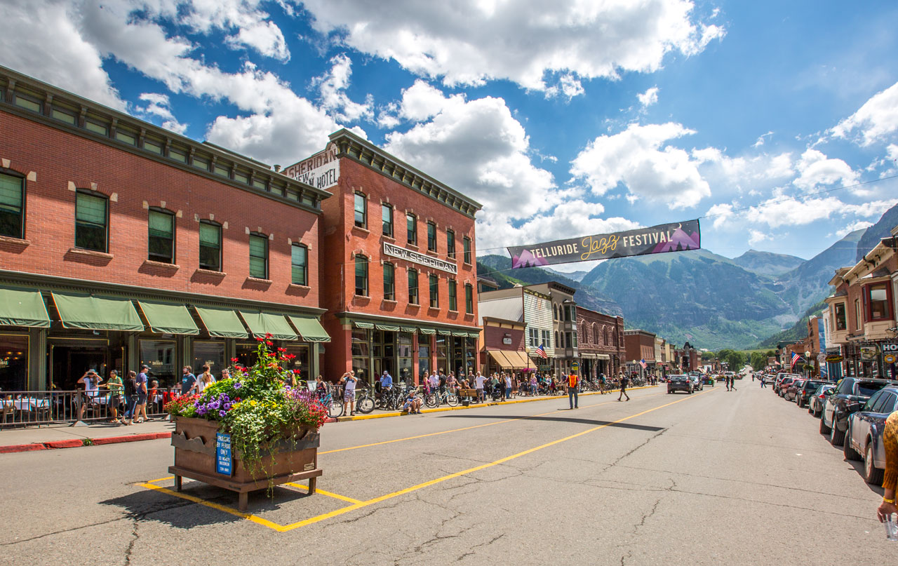 "<p><strong>Getting Here</strong>Telluride is located 8,750 feet high in the beautiful San Juan Mountains!<a href=""/parking"">More →</a></p>"