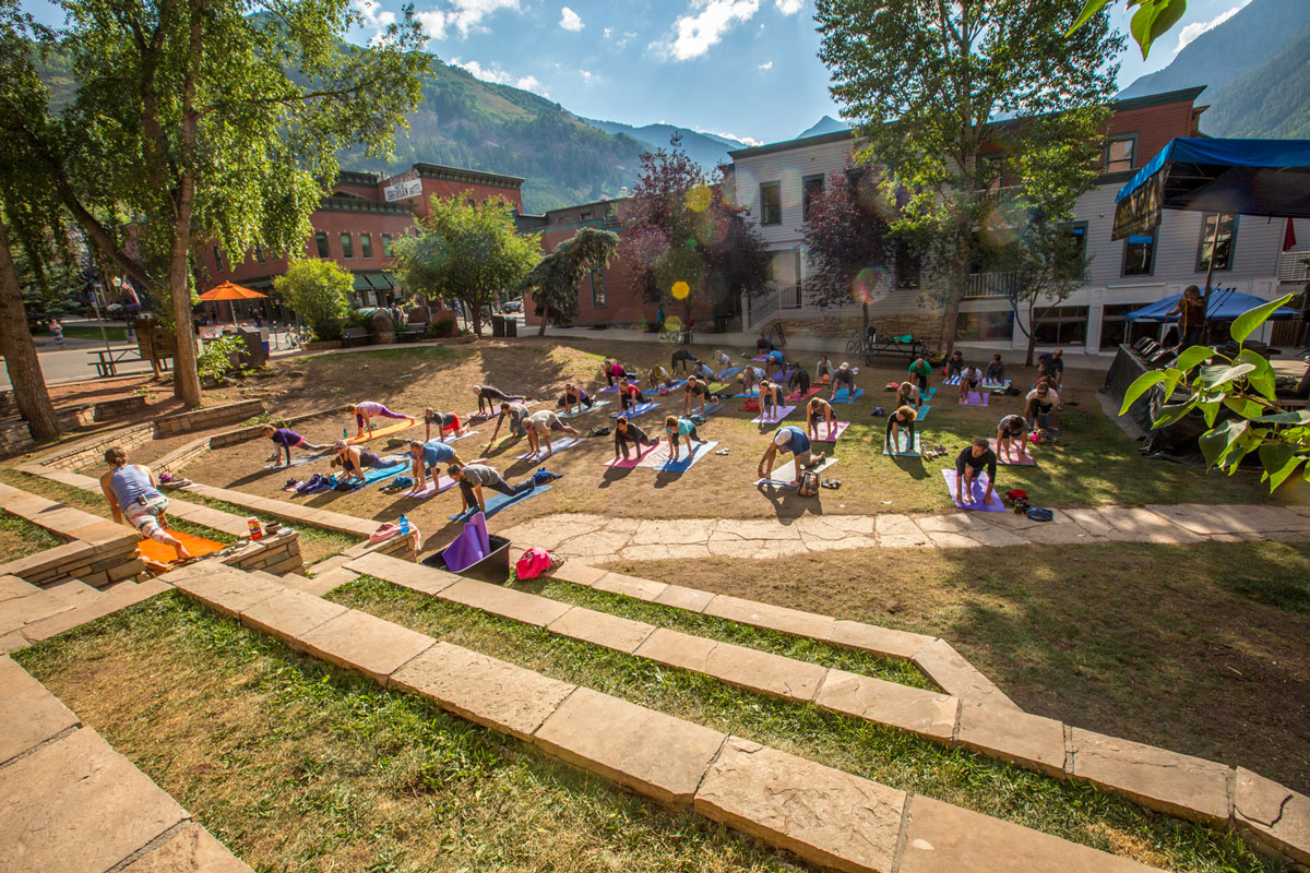 Telluride Jazz Festival | First Note Yoga Sessions