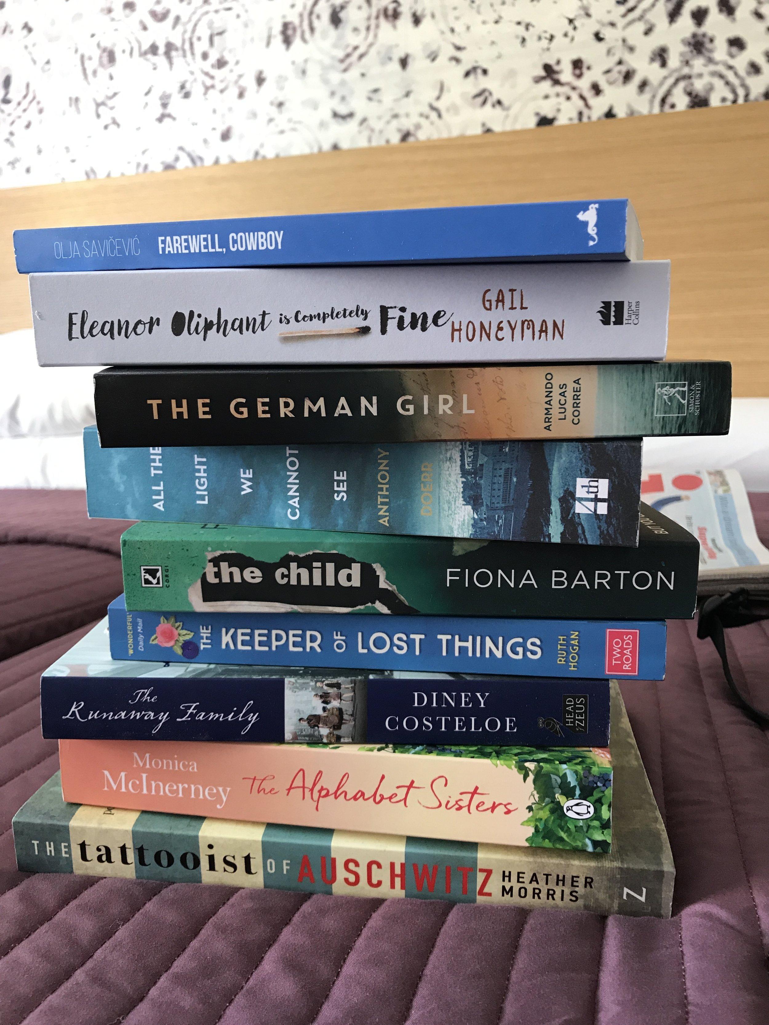 New books for the bookshelf.