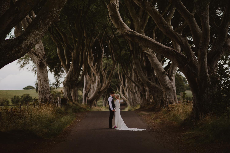 Aaron & Donna - Summer Wedding | Dark Hedges Estate | The Pantry