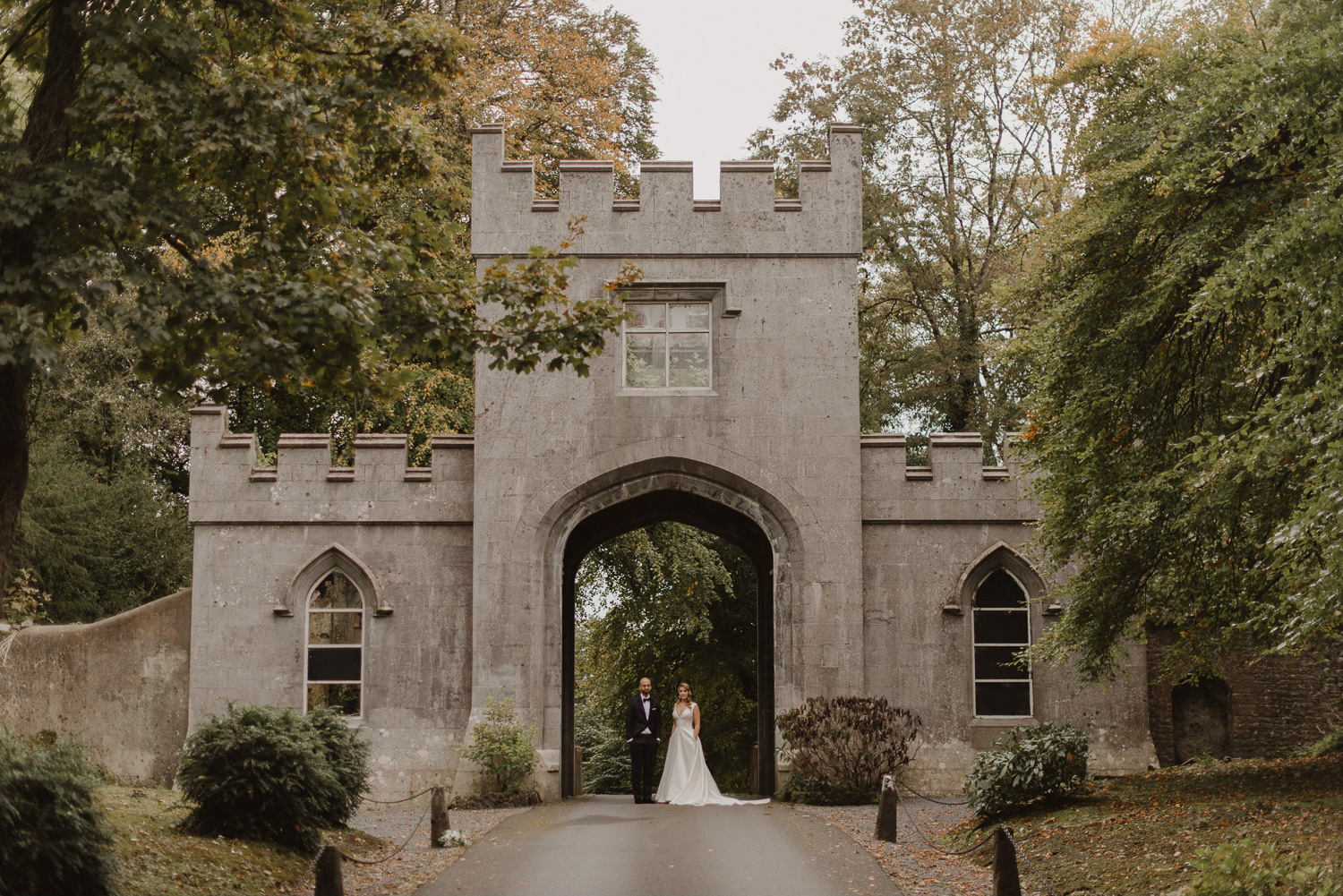 Markree Castle - Markree Castle is a luxury Irish castle wedding venue located on the Wild Atlantic Way in County Sligo. Recently renovated in 2017 this venue is absolutely breathtaking. The castle has all the character and charm that you would expect from a 17th Century historic building and then some. The interiors of the castle are stunning and the bridal suite is absolutely outstanding. With the Dartry mountains in view, accompanied by rolling hills and rivers, this really is a special place to get married in Ireland.