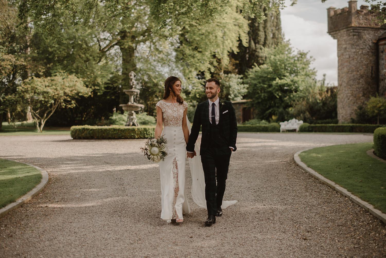Lance & Cathy - Spring wedding | Ballymagarvey Village