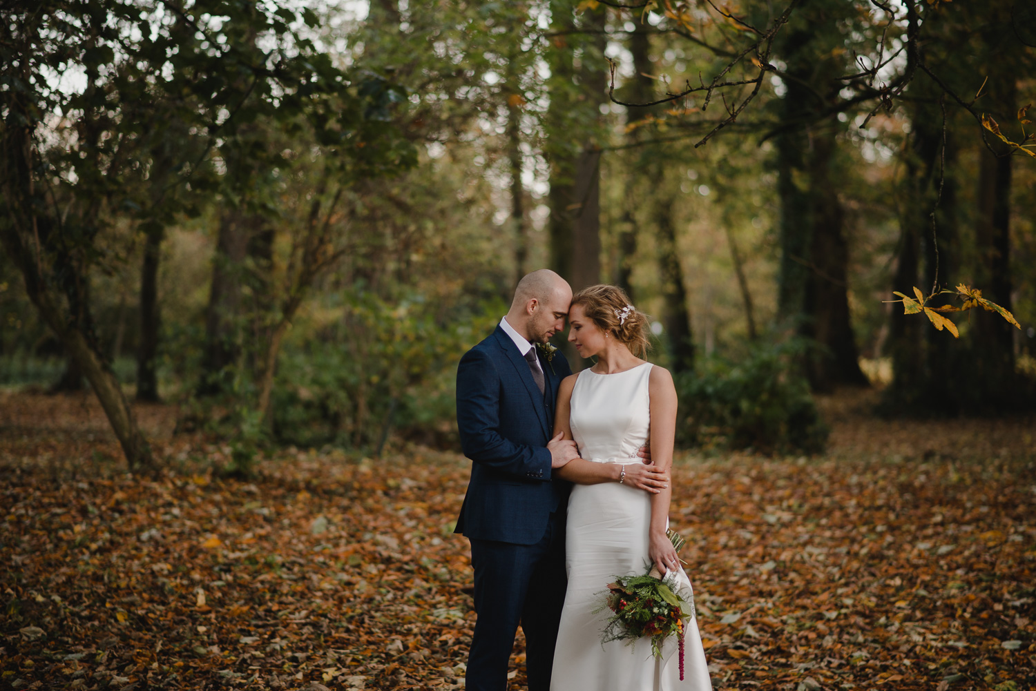 George & Julie - Autumn Wedding | Templeton Hotel