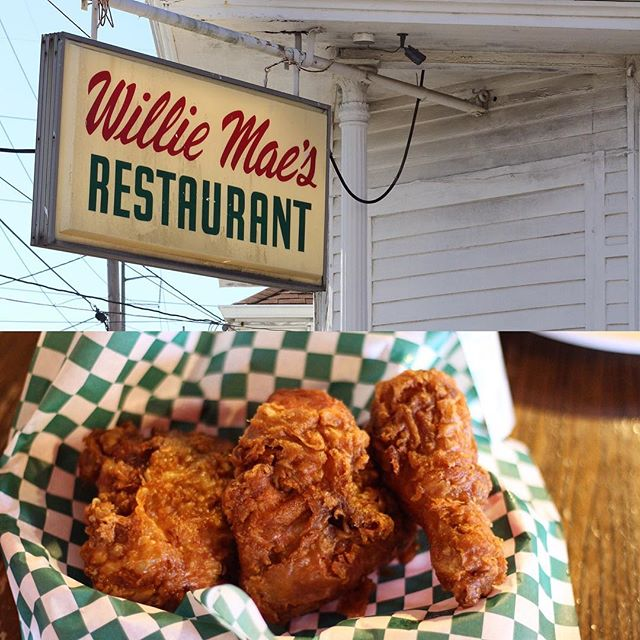 A lady-business not to be missed in #nola! Willie Mae's has been owned by multiple generations of women. The friend chicken = 😋. #yesway #yeswaytravel #womenowned #neworleans #friedchicken #williemaes @williemaesnola