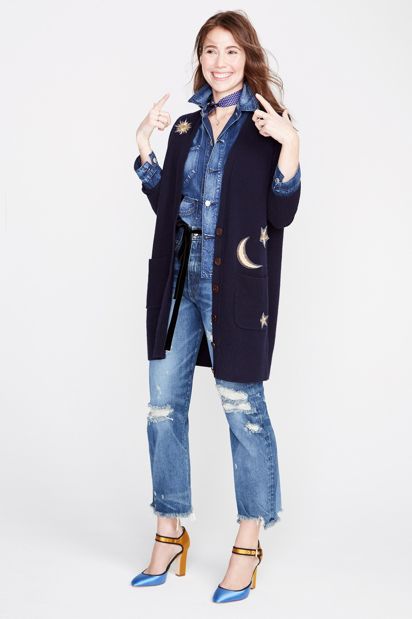 The Fall 2017 shows are underway and there is a lot of great inspiration you can reference for Spring. I especially like J.Crew's collection for the denim and utility fabrics. Check out all the designer showers here.