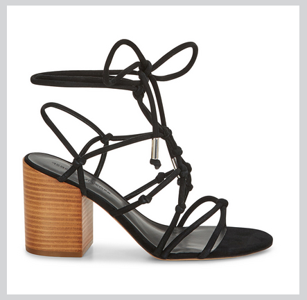 I just got these Rebecca Minkoff sandals in preparation for spring. With the casual heel I anticipate I am going to get a lot of use out of these for work, grabbing drinks or casual weddings. Rebecca Minkoff has some great spring styles at pretty affordable prices. Plus you get 15% off your first purchase when you sign up with your email address.