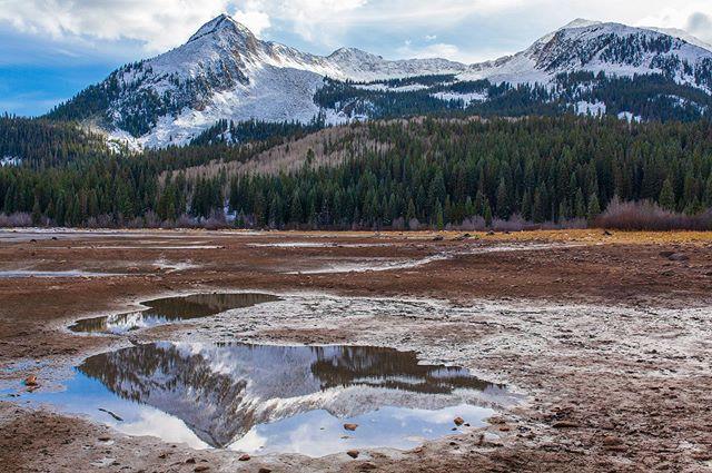 Such a pretty spot at a Colorado mountain pass