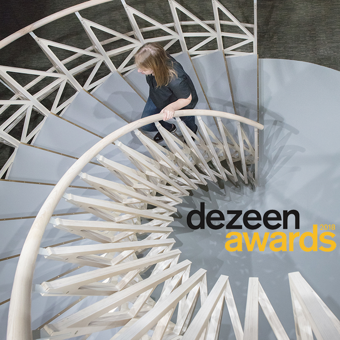 Studio Ben Allen Dezeen Awards 2018