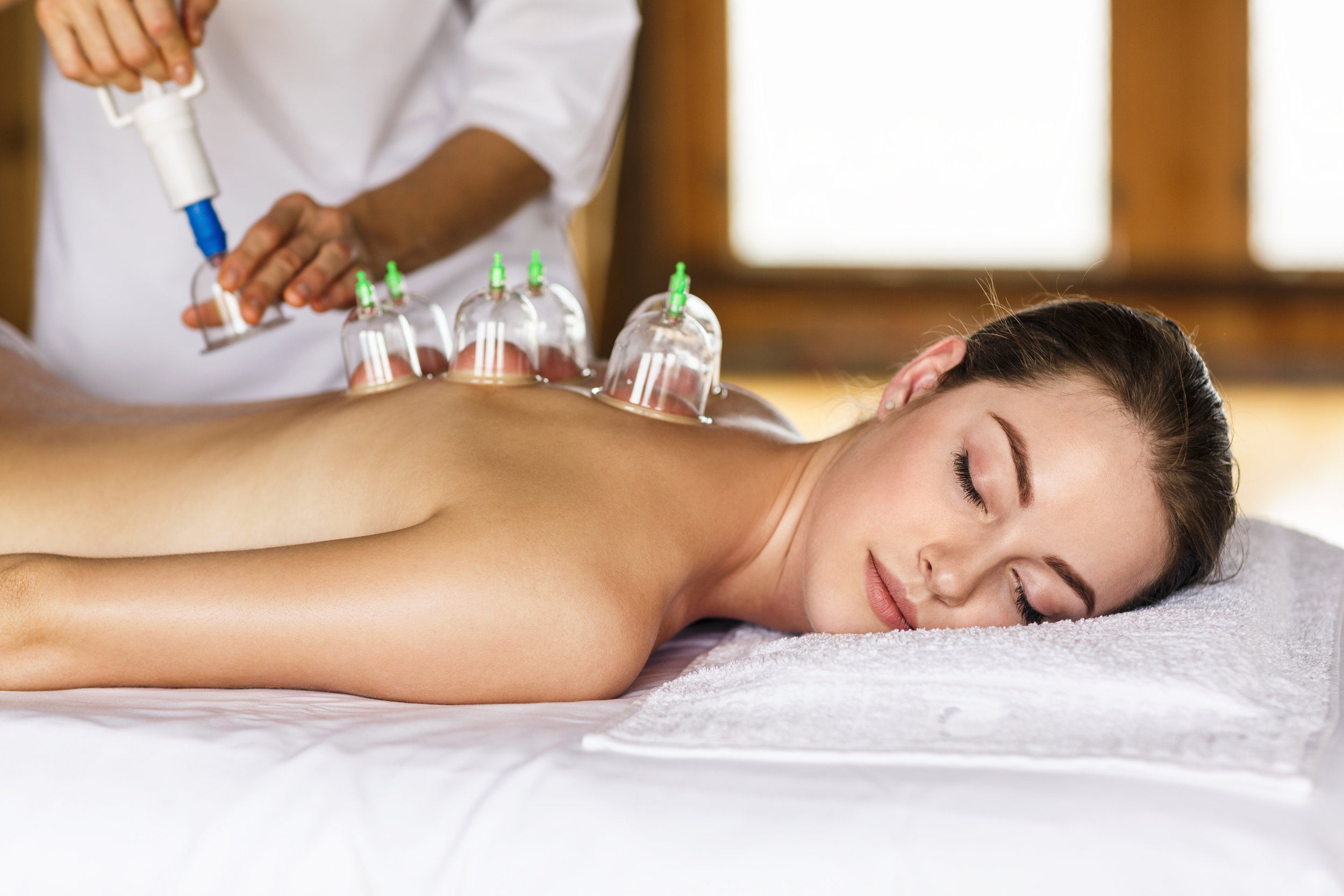 Cupping Massage at The Meridian Day Spa