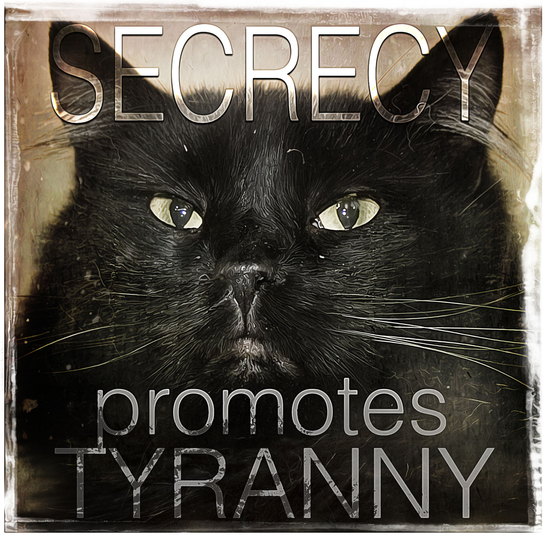 Secrecy Promotes Tyranny