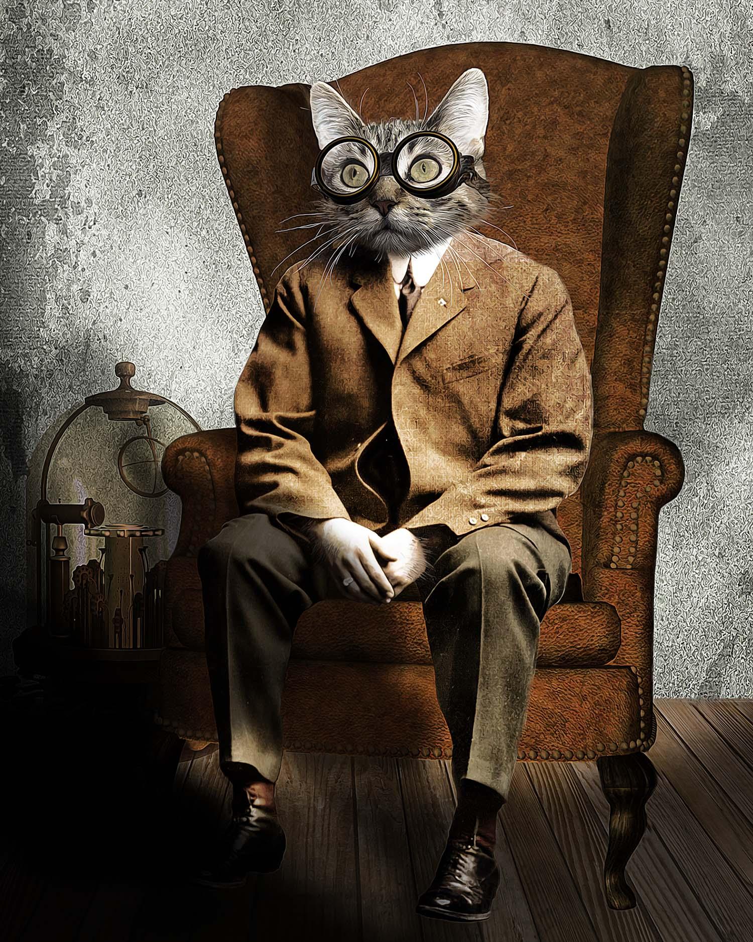 Steampunk Feline