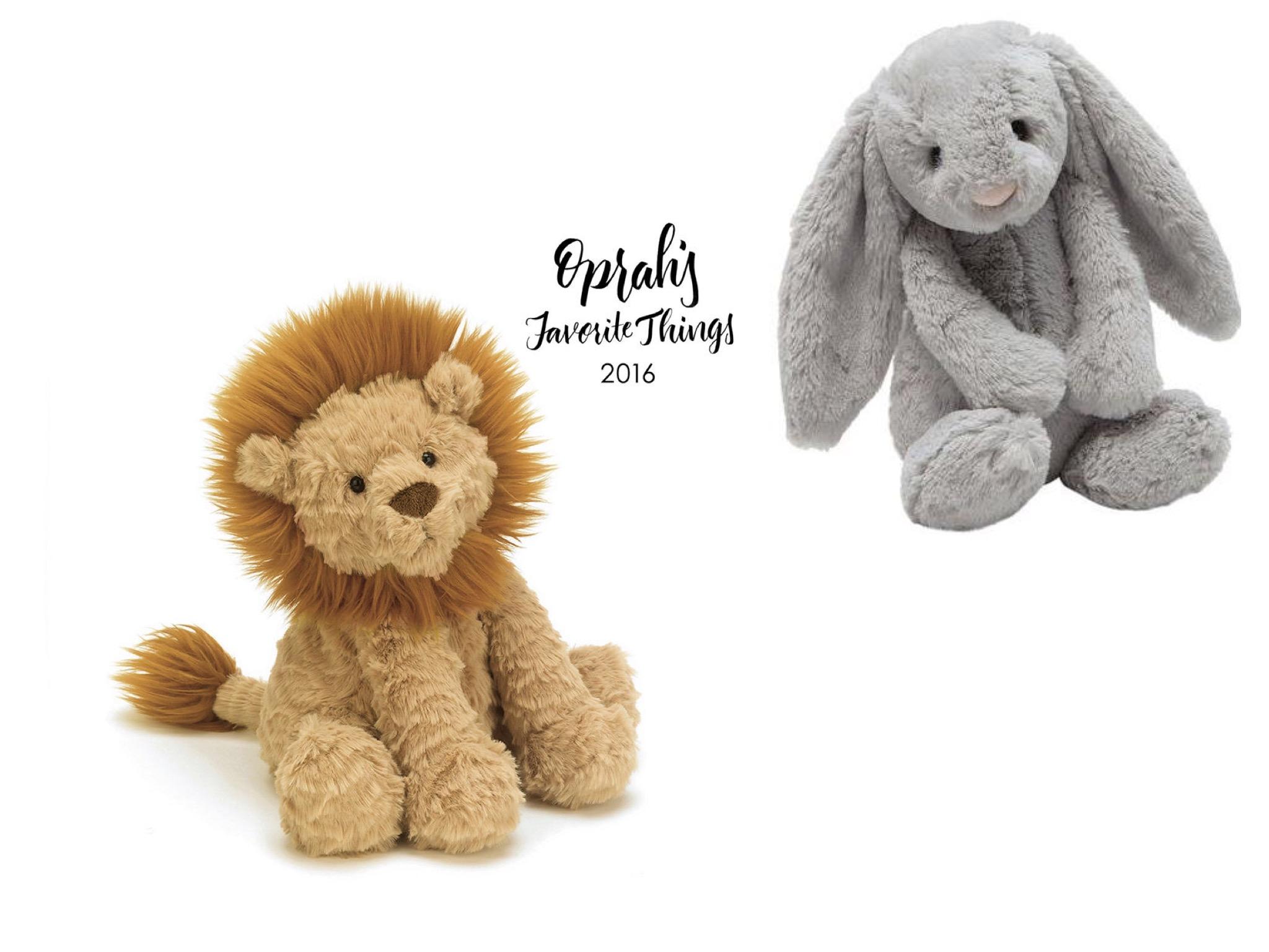 Fuddle Wuddle Lion  &  Bashful Bunny