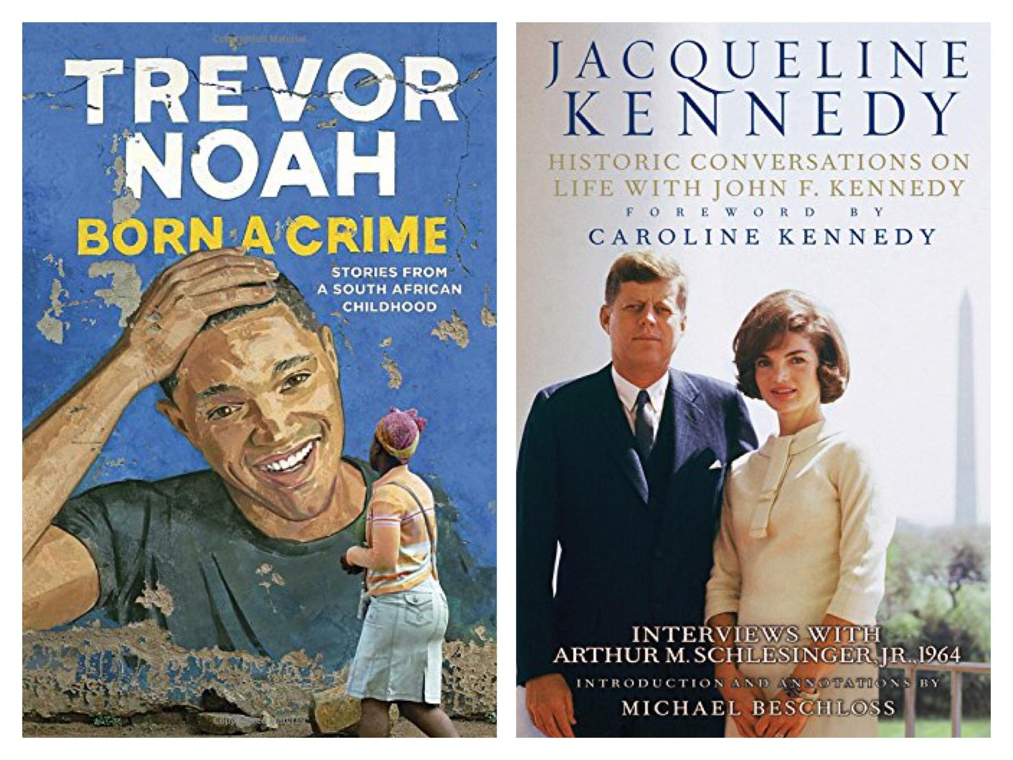 Trevor Noah ,  Jacqueline Kennedy