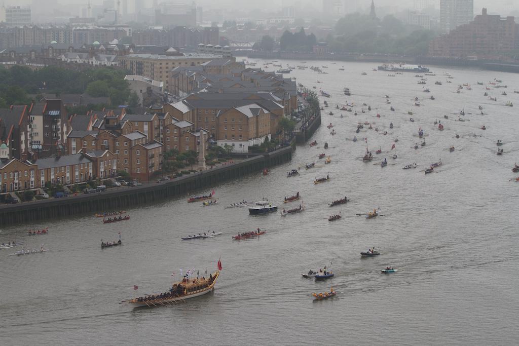 The Queen's jubilee flotilla