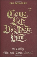 Paul David Tripp's new 31-day Advent devotional. Has special notes at the end of each day for parents & children.