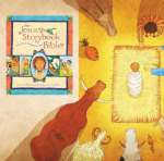 Free PDF download that leads you through the Jesus Storybook Bible during Advent.