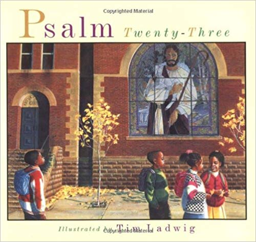 This book sets the familiar words of Psalm 23 against the backdrop of a day in a child's life in the city.