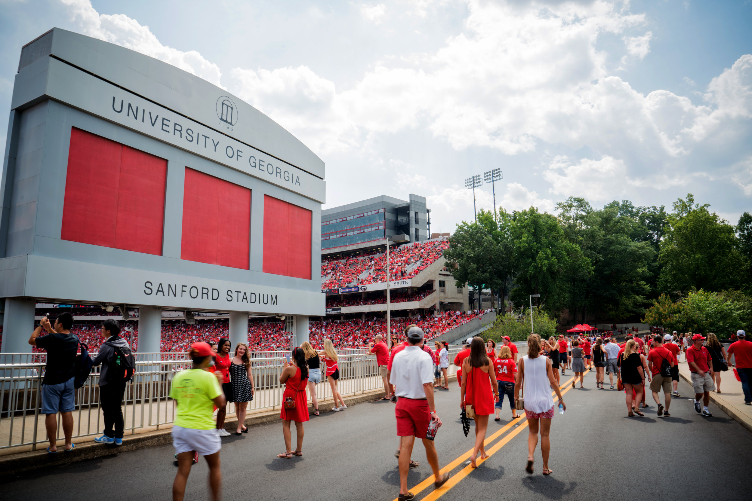 SANFORD STADIUM: University of Georgia
