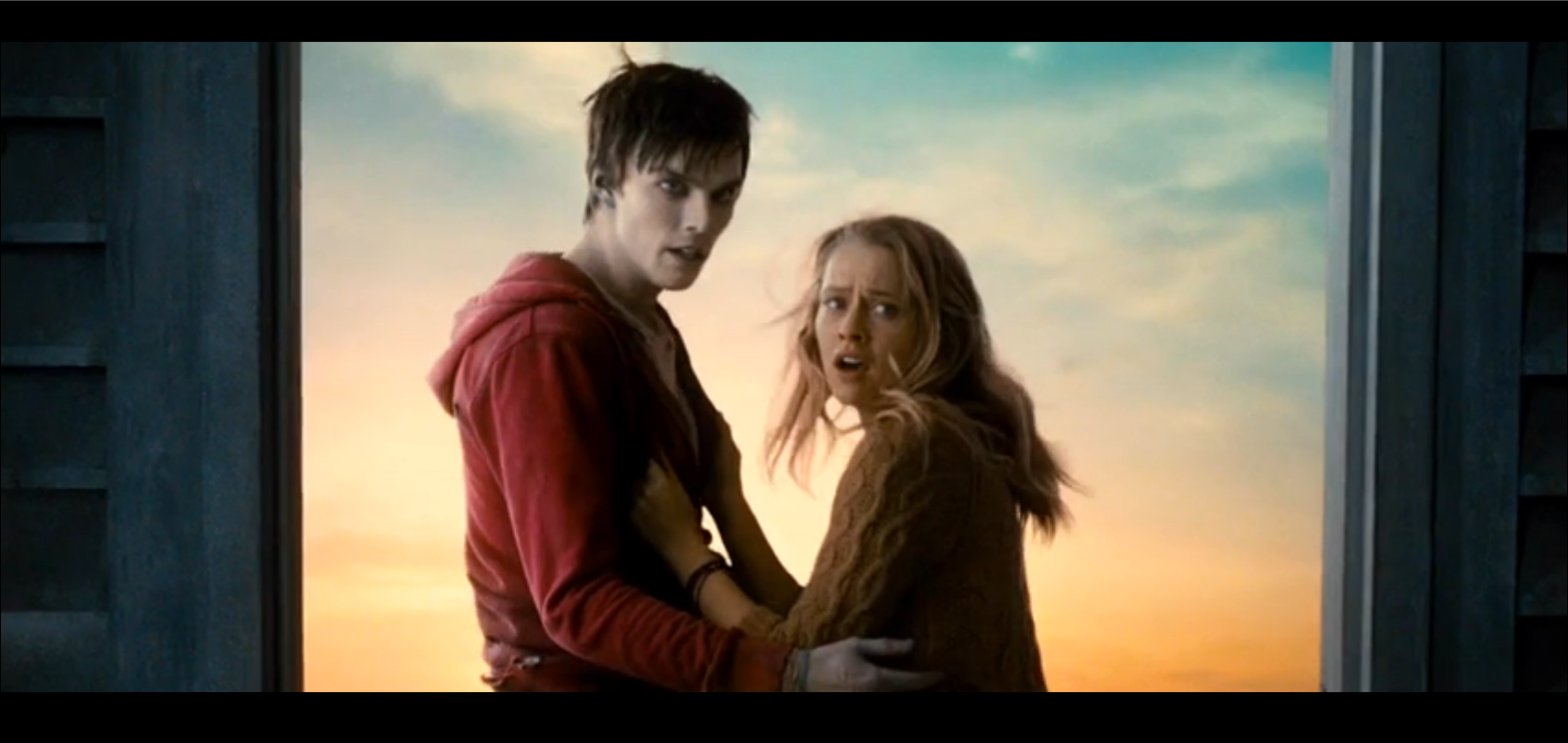 R and Julie in Warm Bodies (2013)