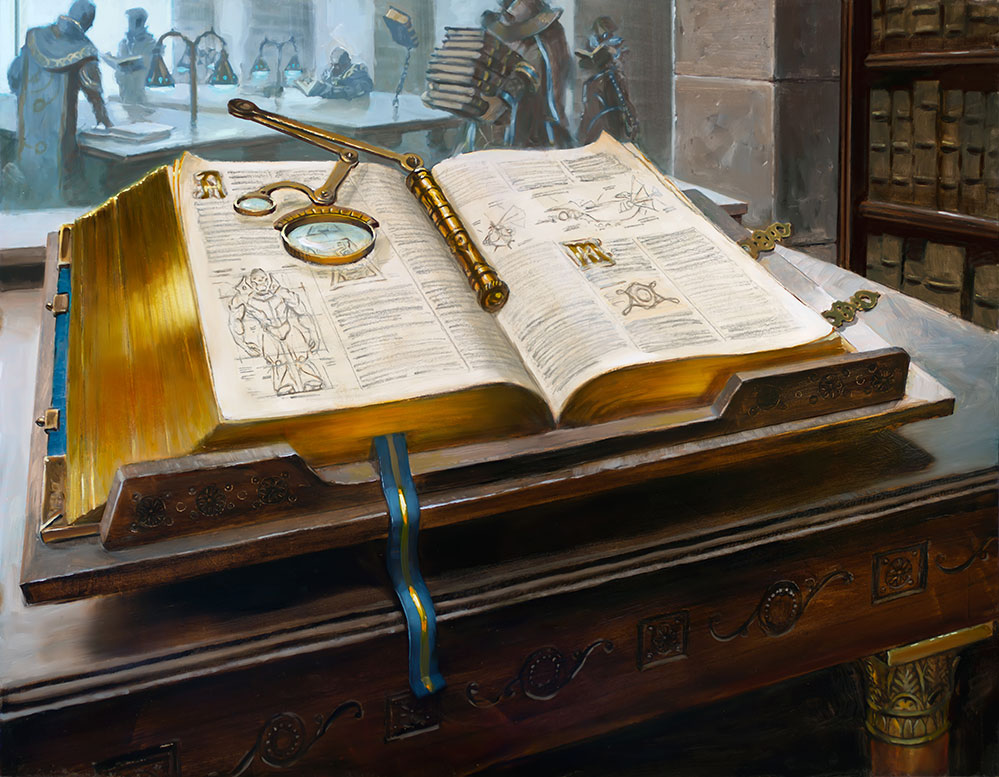 Urza's Tome | Magic: the Gathering | Wizards of the Coast
