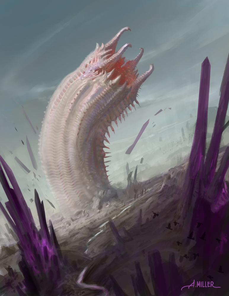 Wurm of the Thystine Desert
