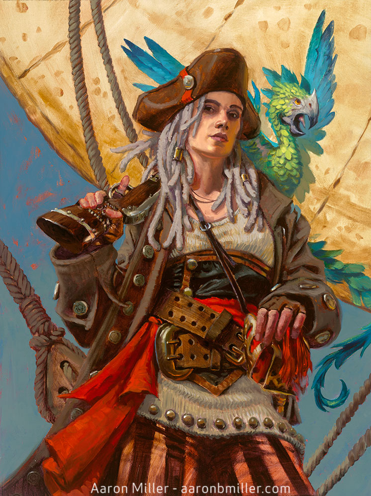 Cap'n Mary Deadwright, Pirate Hellion