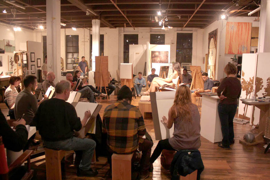 life drawing sessions at platform studios nude models for artists.