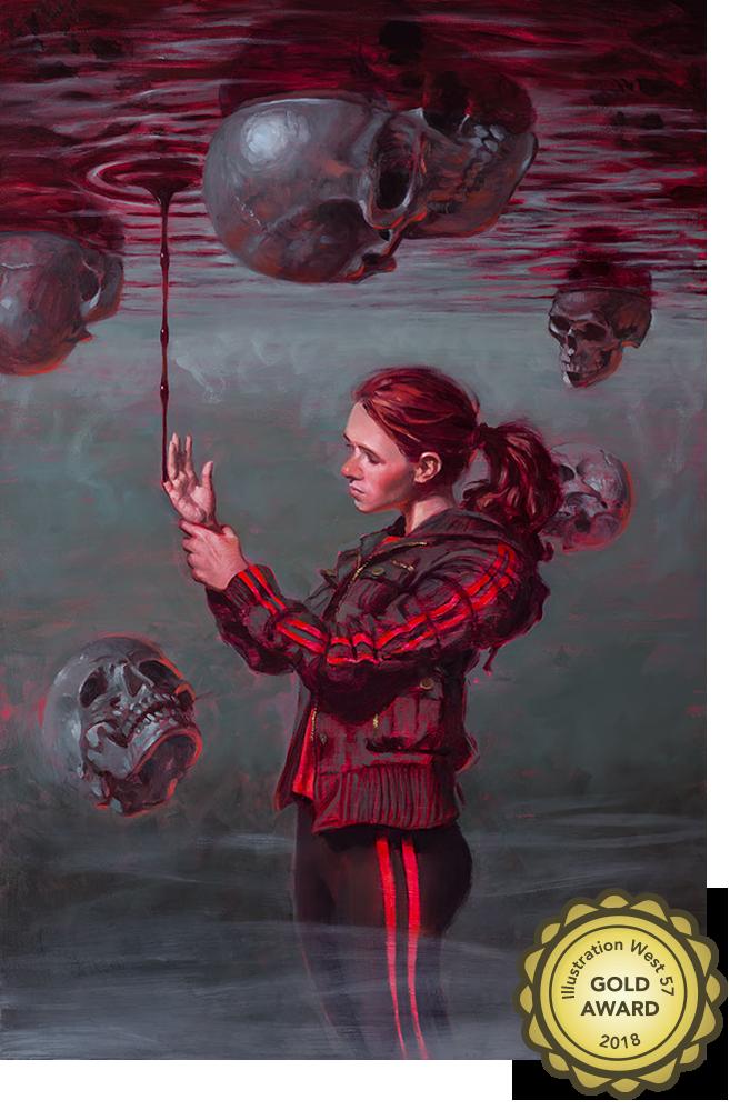 Touching Evil | Beardo Comics | Aaron Miller