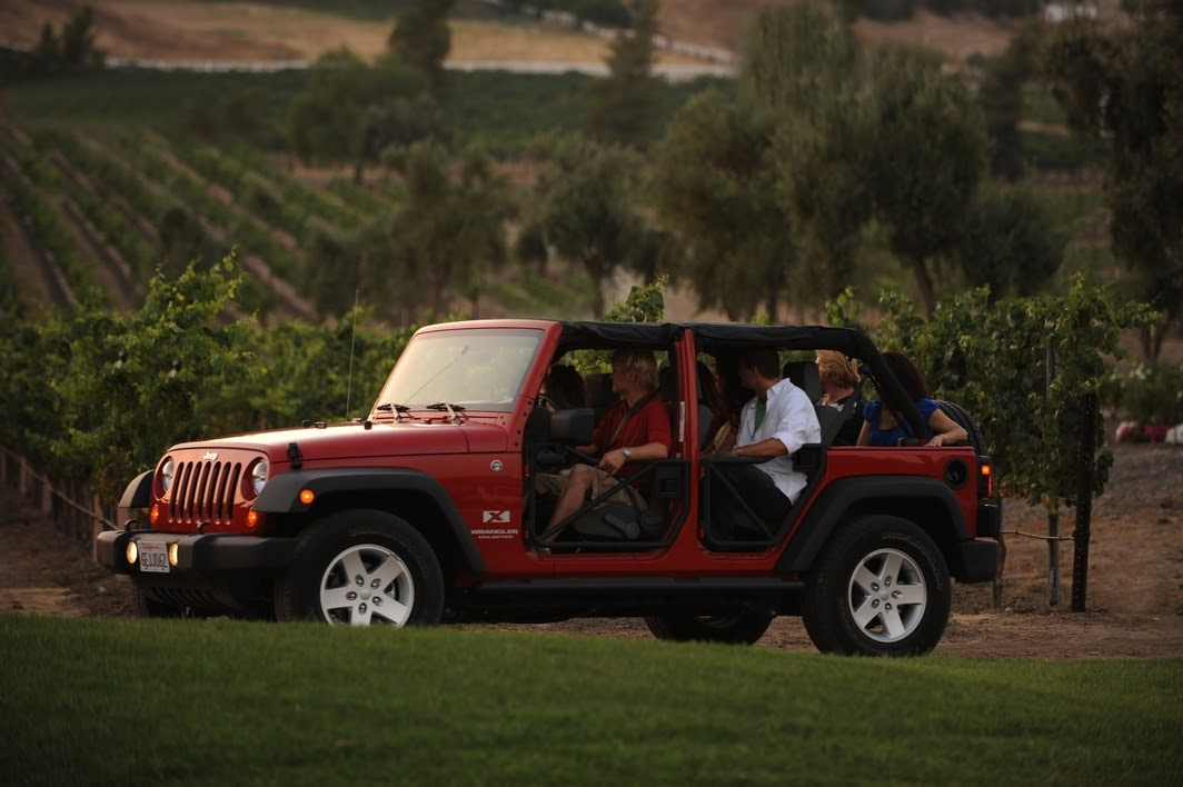 Jeep and wine tour in San Diego