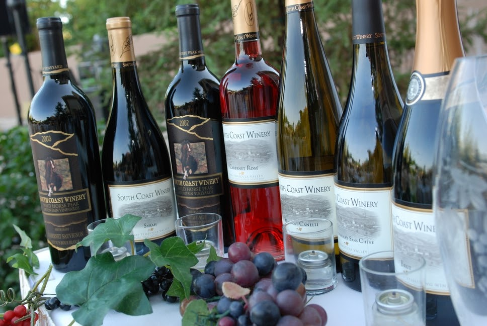 different types of wine for food paring