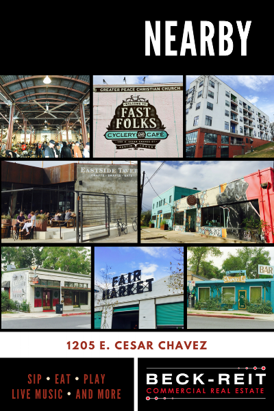 East Austin is filled with Hip Businesses:  Shangri-La ,  Eastside Tavern ,  The Corazon ,  Cenote ,  Ah Sing Den