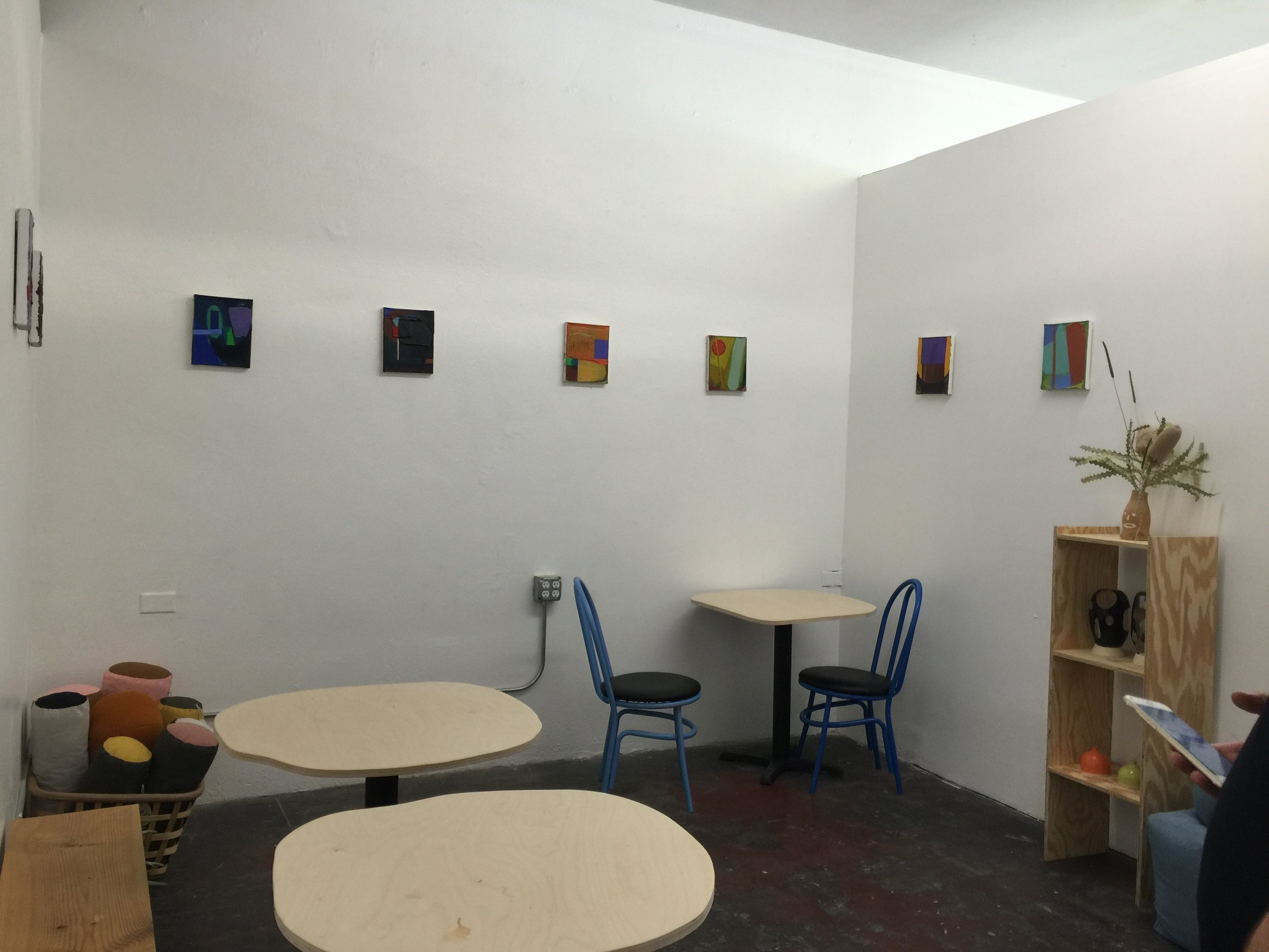 Space laid out for Art Gallery and Coffee Shop -