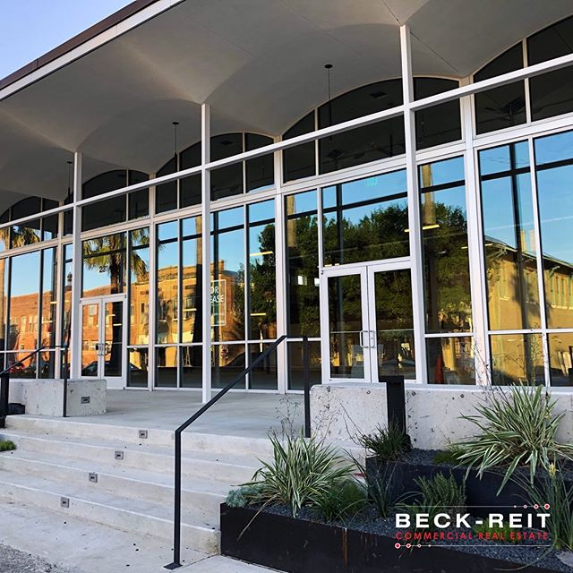 Killer renovation in downtown San Marcos. #sanmarcos #renvoation #renovationproject #redevelopment #construction #architecture #buildinglover #buildwealth #ilovebuildings #midcenturymodern #design #texasrealestate #commercialrealestate #texascre