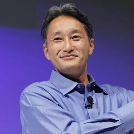 Kaz Hirai,   Sony Corporation,      2013 Honoree