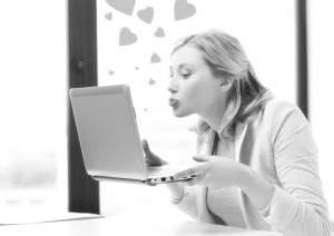 electronic dating simulator