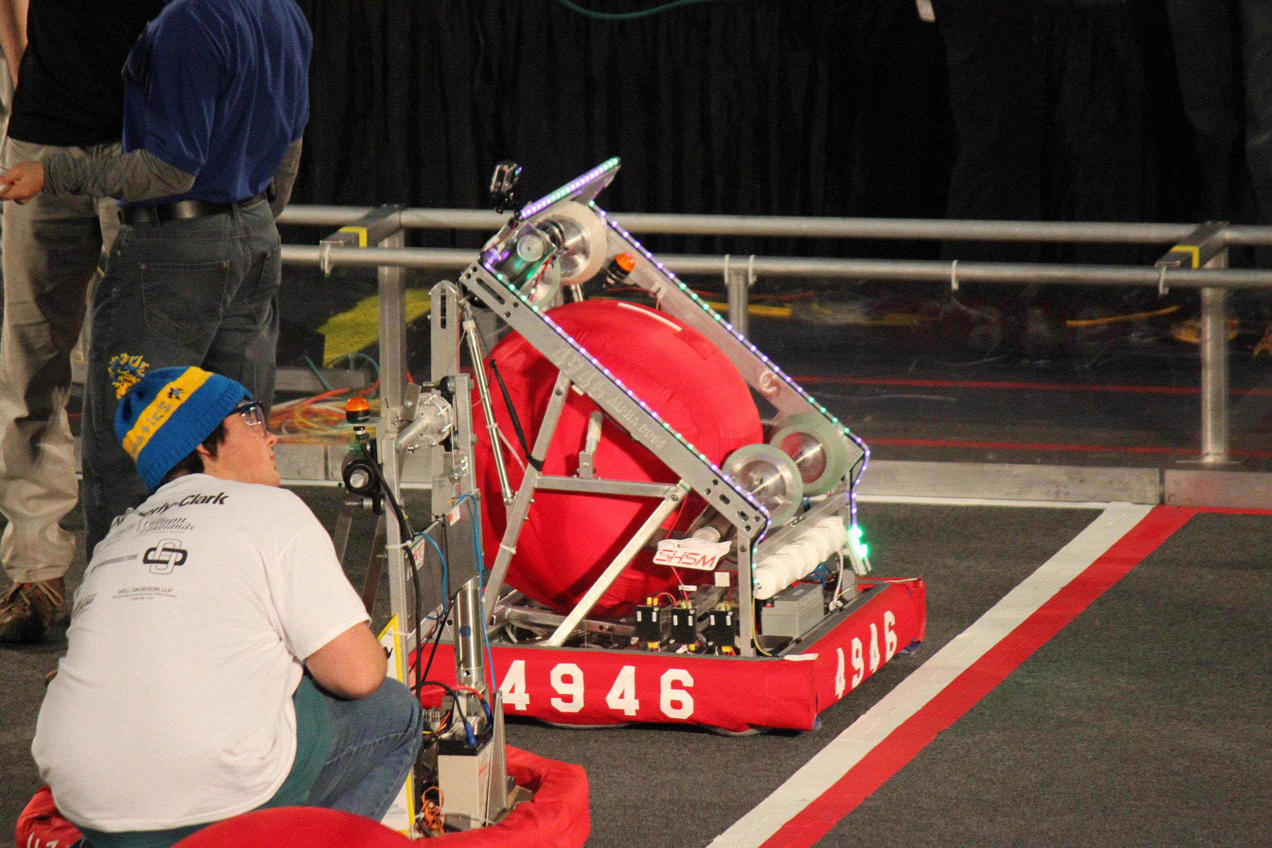 Our 2014 Robot, Alph