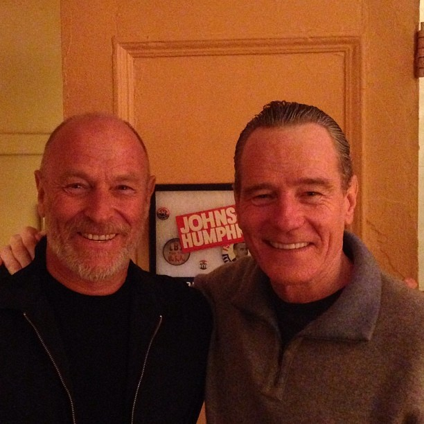 "In awe of my buddy Bryan Cranston. Saw ""All The Way"" tonight - remarkable performance, inspiring play, incredible cast. Magnificent!"