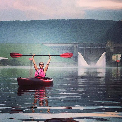 Allegheny River kayak rental