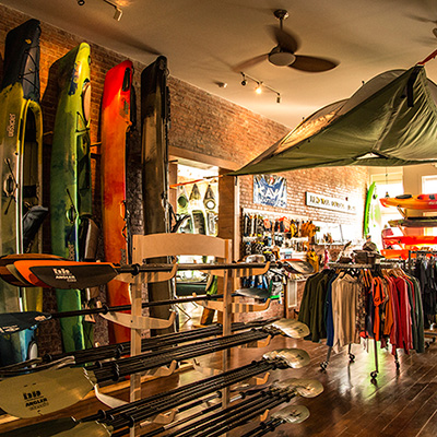 Allegheny Outfitters Outdoors store