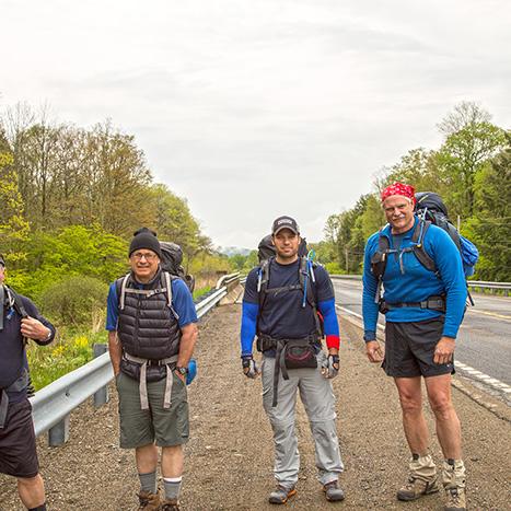 Allegheny National Forest backpacker shuttles