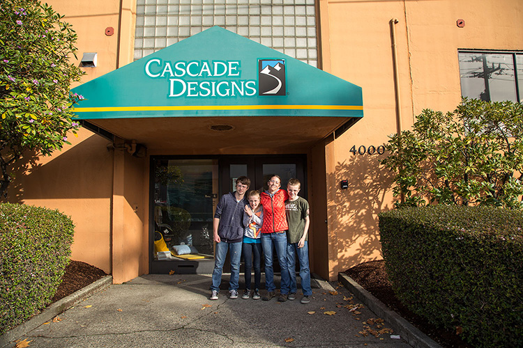 Cascade Designs tour, October 2015. These are the folks behind MSR, Therm-A-Rest, Seal Line and Platypus.