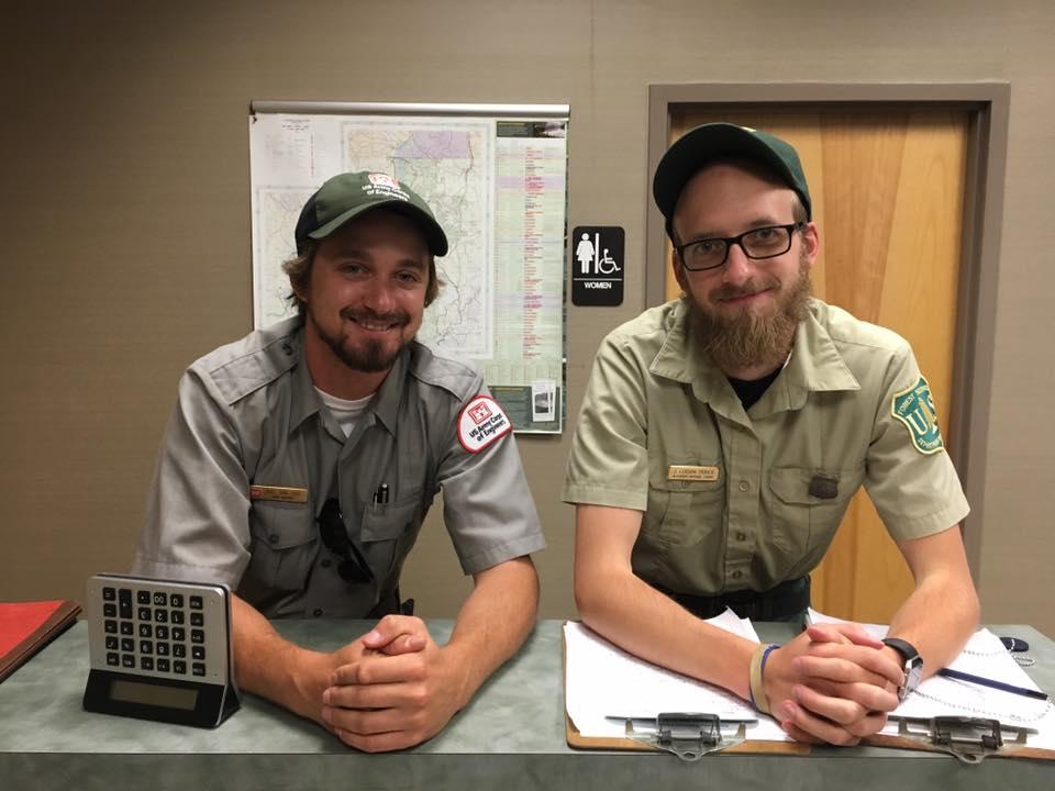 Joel and Logan
