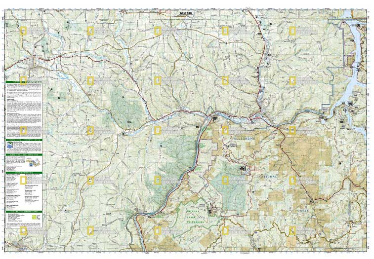 allegheny national forest map
