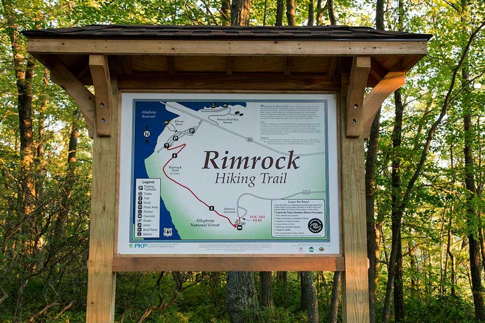 Rimrock Trailhead - Allegheny National Forest