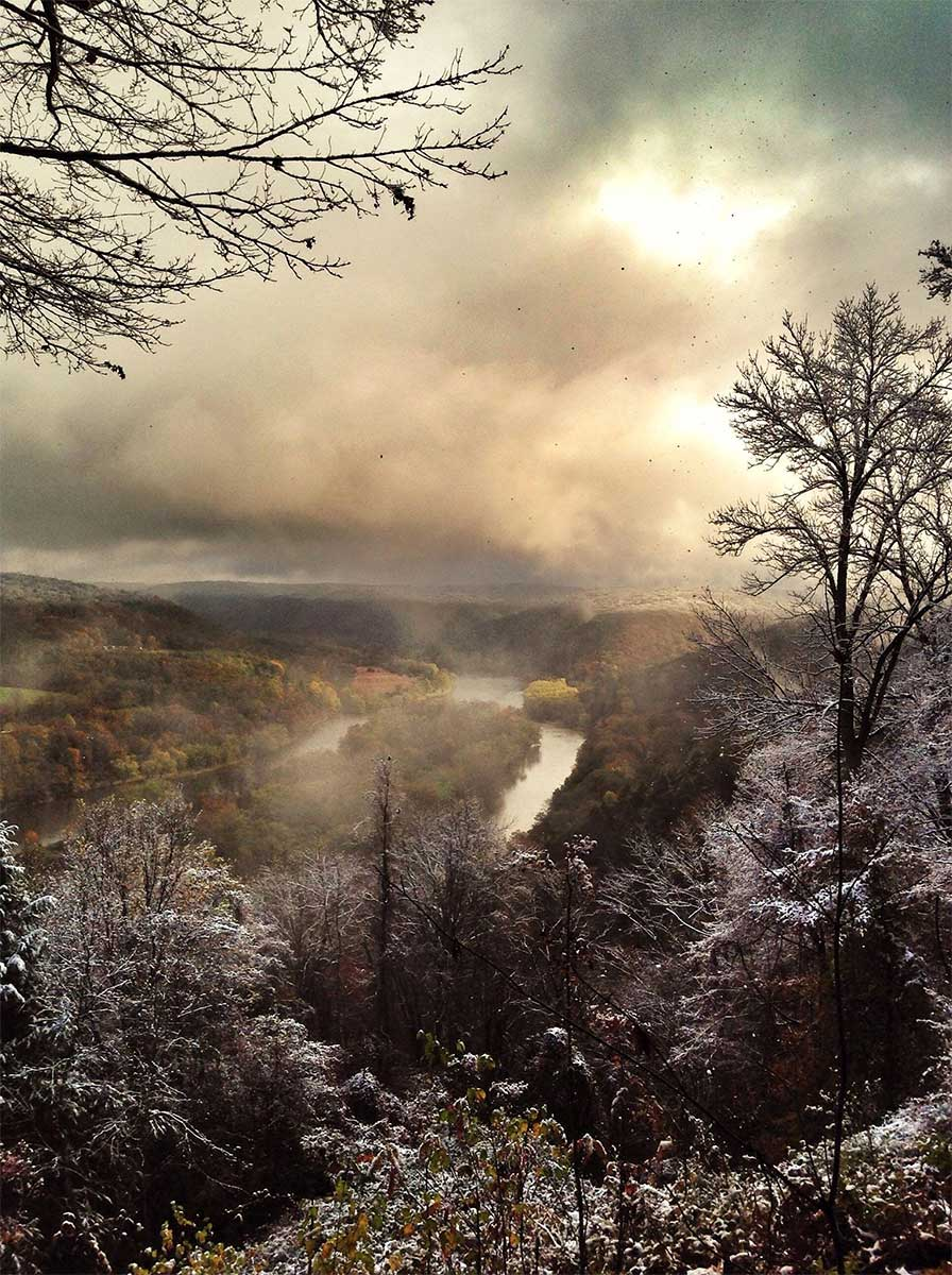 Tidioute Overlook Trail, Allegheny National Forest