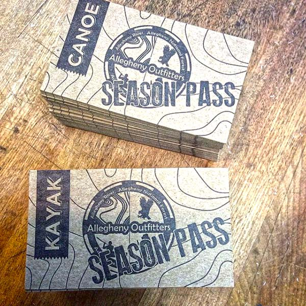 AO Livery Kayak Season Pass