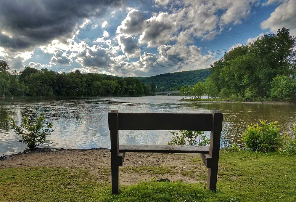 Point Park Bench
